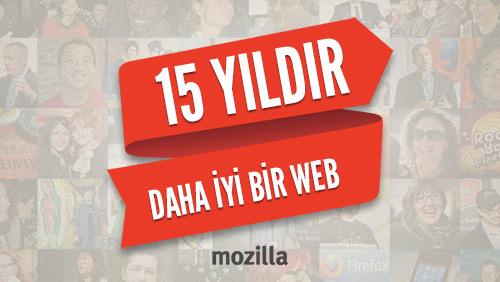 Mozilla 15 yaşında